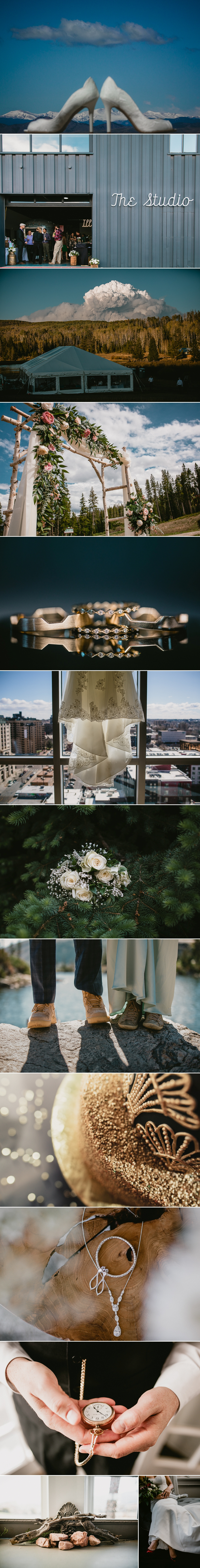 Details from Colorado's best 2019 wedding photography.