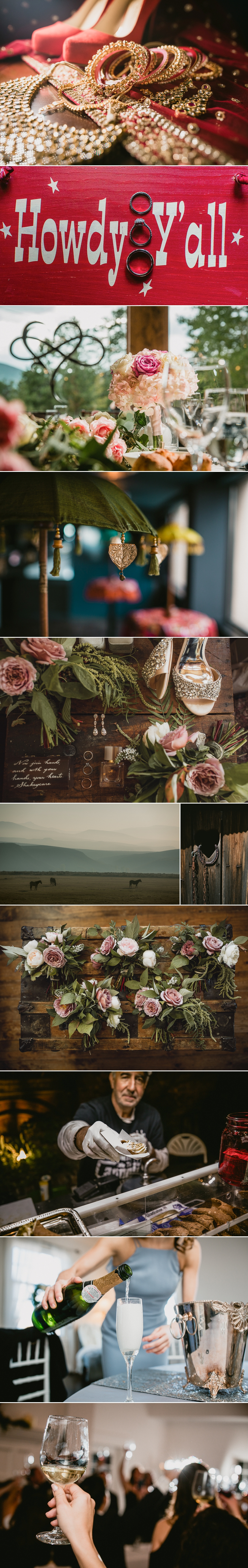 2019 Colorado Wedding details from MSW Photos.