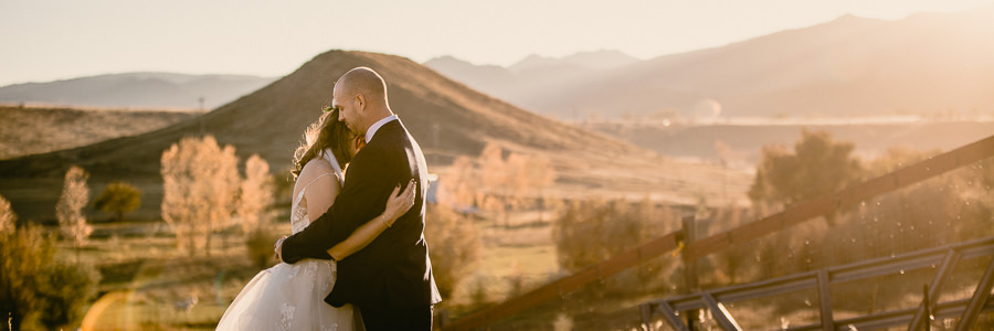 Fall Lone Hawk Farm Colorado Wedding